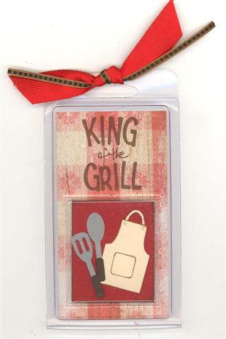King of the Grill tag