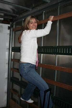 Julie in theTruck