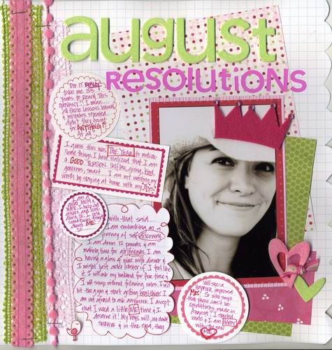 Making Memories Editor's Pick May/June 2008