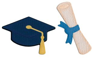 Custom Graduation Die Cuts