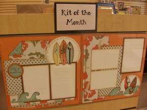 June Layout Kit of the Month - by Julie