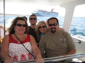 Trish, Ronnie, Michelle, Gilbert